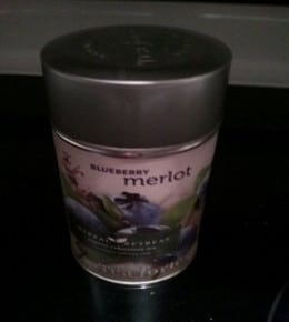 Can of Blueberry Merlot