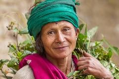 Darjeeling woman
