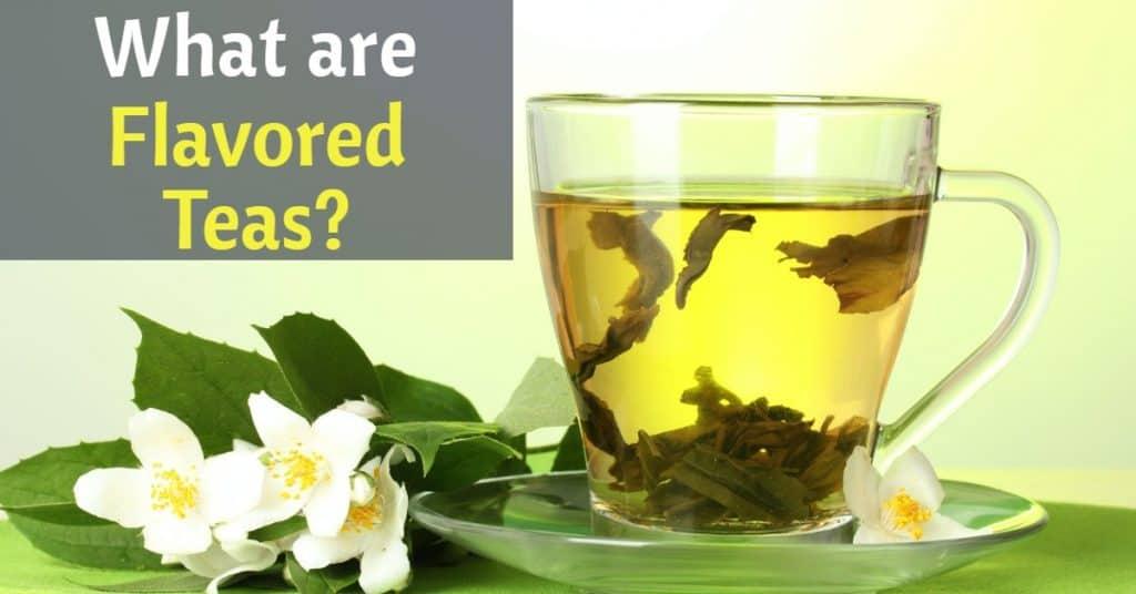 green tea flavored with jasmine
