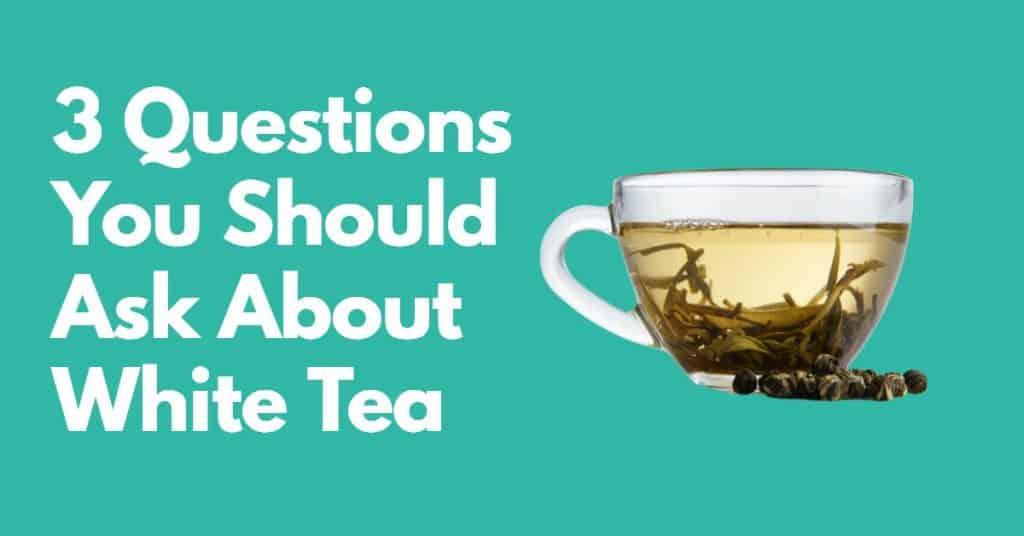 cup of loose leaf white tea